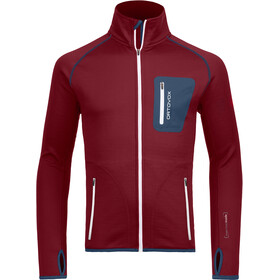 Ortovox M's Fleece Jacket Dark Blood